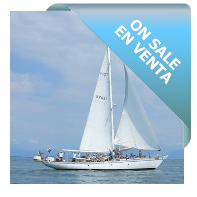 On sale - Sailboat 60 ft. - Clásico 1938