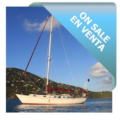 On Sale - Sailboat 40 ft - Passport 40 - Model 1981