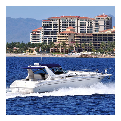 Sport Yacht - Sea Ray Express 40 - Cap. 6 Pax