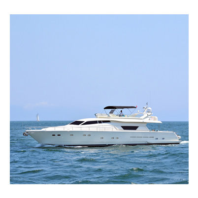 Luxury Yacht - Ferretti 80 - Cap 12 Pax