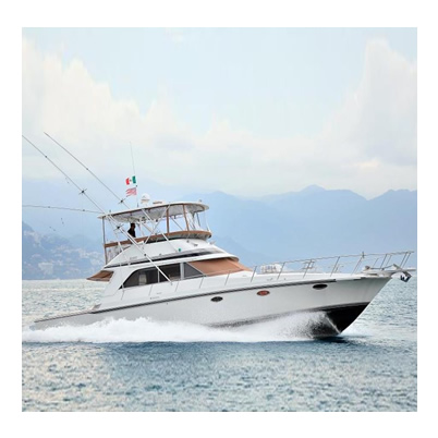 Fishing Charter - Trojan 46 - Cap. 10 Pax