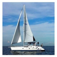 Velero - Hunter 45 - Cap. 8 Pax
