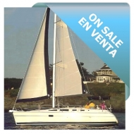 On sale Sailing Boat Hunter 35 ft - Model 2002