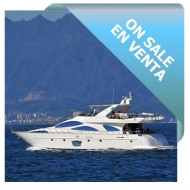 On Sale - Luxury Yacht Model 2006 - Azimut 80