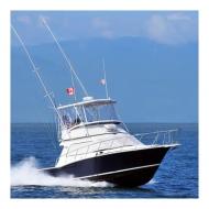 Yate de Pesca - Cabo 35  - Cap. 6 Pax