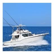 Yate de Pesca - Hatteras 46  - Cap. 10 Pax