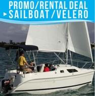 Sailboat Promo 4 Passengers - USD 270 X 5 Sailing hours
