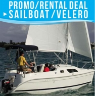 Sailboat Promo 4 Passengers - USD 270 X 5 Sailing hours